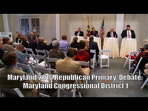 Republican Congressional Debate 2016 District 1 April 13, 2016