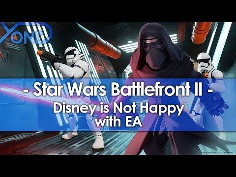 Disney is Not Happy with EA's Handling of Star Wars Battlefront 2