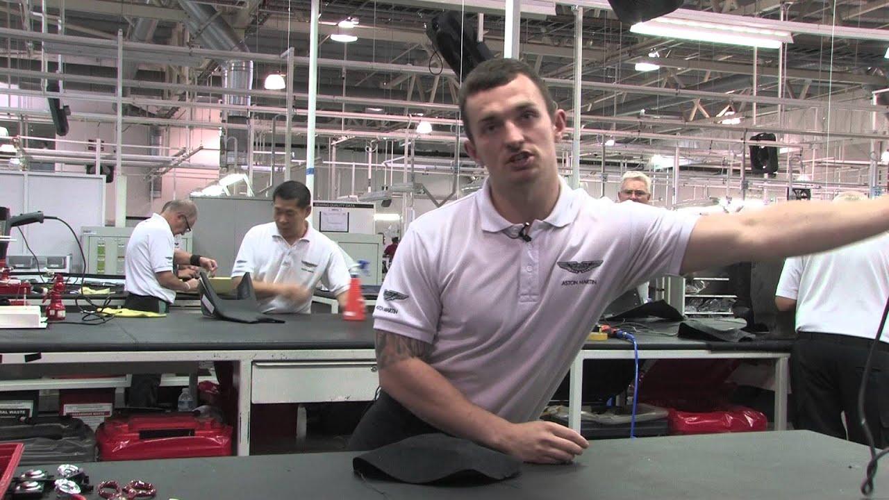 Aston Martin Apprentices Speak Up Youtube