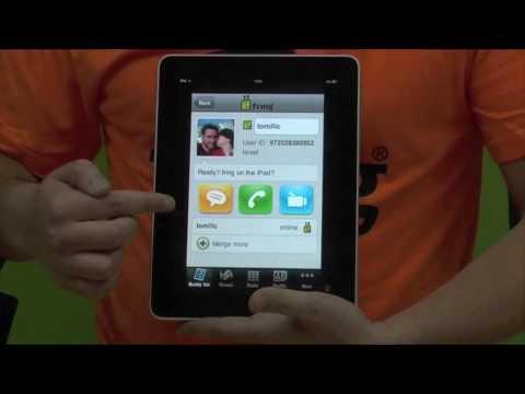 fring on iPad