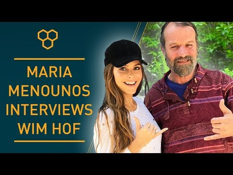 Maria Manounos interviews Wim Hof