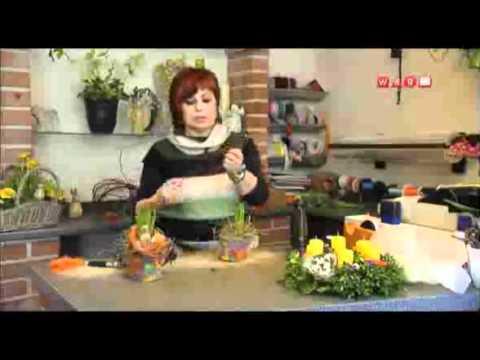 moos konservieren fr hlingsdeko bertopf aus laubbl tter f r