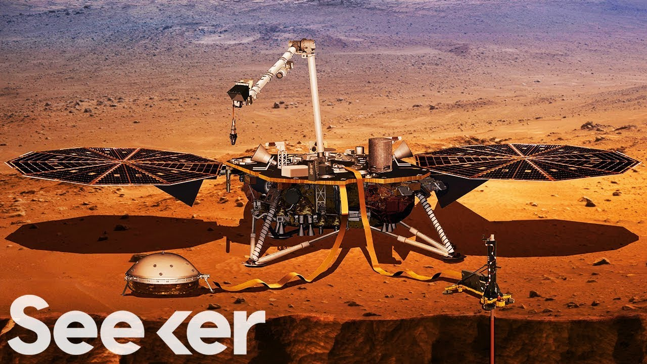 NASA Just Launched a Mission to Mars to Dig Deep Inside