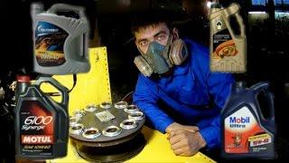 Почему угорает моторное масло,  нагрев часть 5