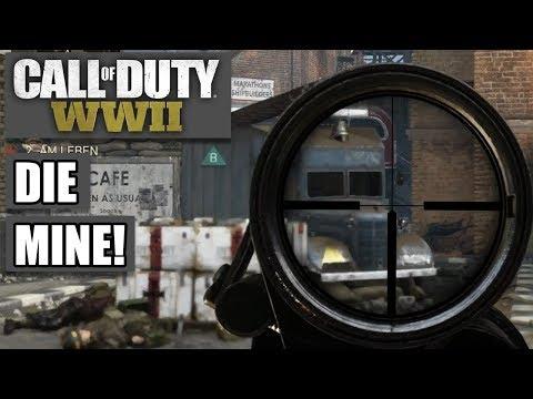 COD WWII Intern #05 - Die Mine! - Call of Duty World War 2 MP