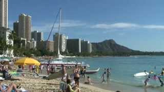Holiday in Waikiki, Hawaii ワイキキの休日
