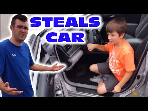 Kid Takes Uncle's Car To Go To Mcdonalds *SKIT*