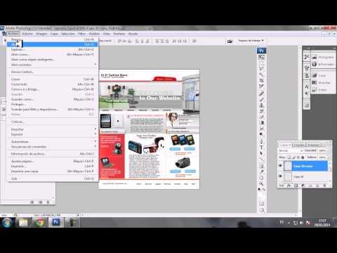 PHOTOSHOP A HTML 2