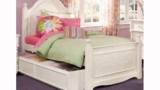 Freyalados - White Twin Bed With Trundle