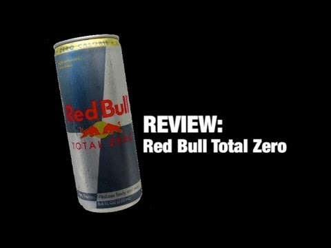 REVIEW: Red Bull Total Zero Energy Drink