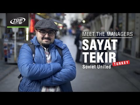 Meet The Managers #6 | Sayat from Turkey | Top Eleven