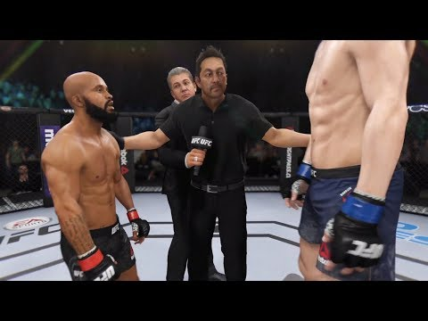 Demetrios Johnson Vs. Stefan Struve (EA Sports UFC 3) - CPU Vs. CPU