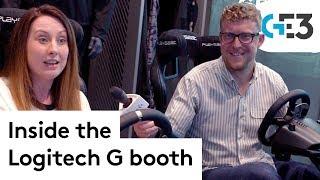 Logitech G at E3 2019 - inside the Logitech G booth