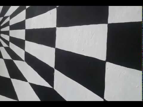 Mural 3 Dimensi Kotak Kotak Youtube