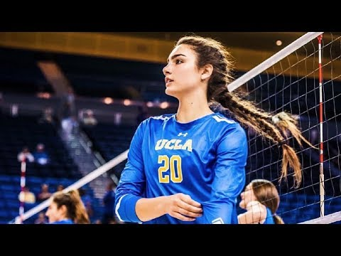 Jamie Robbins - Beautiful Volleyball Player 2017 (HD)