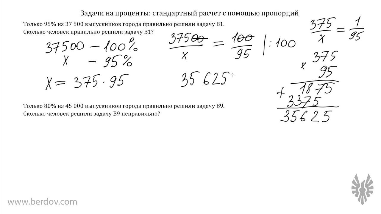Решение текстовых задач на проценты и пропорции решения задач по математике 5 класс лебединцева