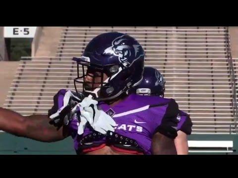 Royce Moore Defensive Back  Abilene Christian University Football