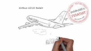 Самолет картинки для детей нарисованные  Как нарисовать пассажирский самолет поэтапно карандашом