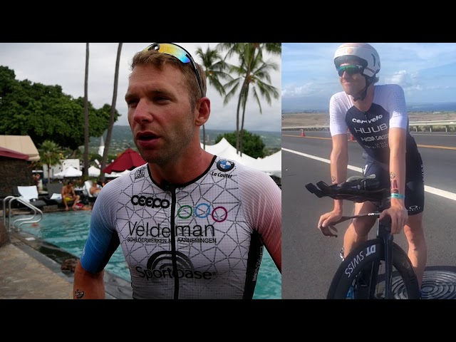 Bart Aernouts na het WK Ironman in Hawaii 2019: