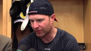 Pre-Game Interview (2/26/15): Jordan Leopold