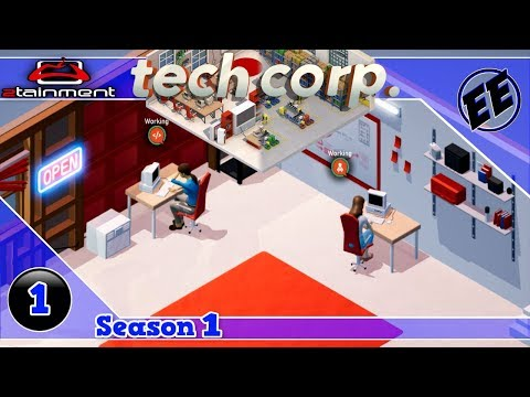 Tech Corp / Handling External Contracts ~ S1 Ep1 / @TechCorpGame #TechCorpGame #jibba73  