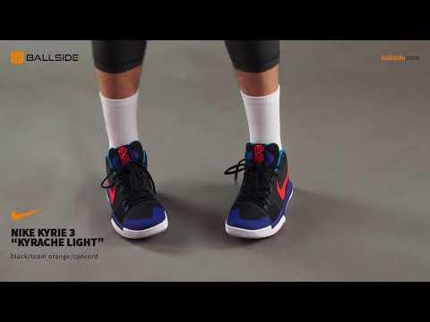 free shipping a0892 fa63b Nike Kyrie 3 Kyrache Light on feet - YouTube