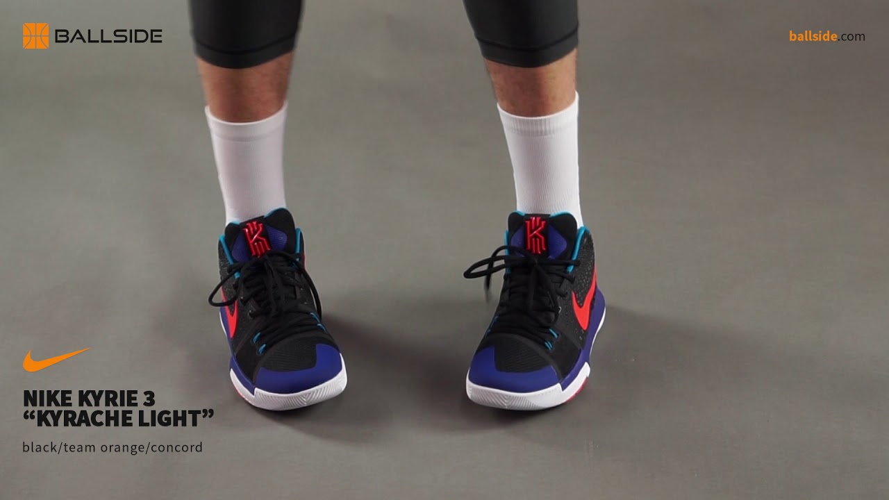 1a4f9f4fb2c Nike Kyrie 3 Kyrache Light on feet - YouTube