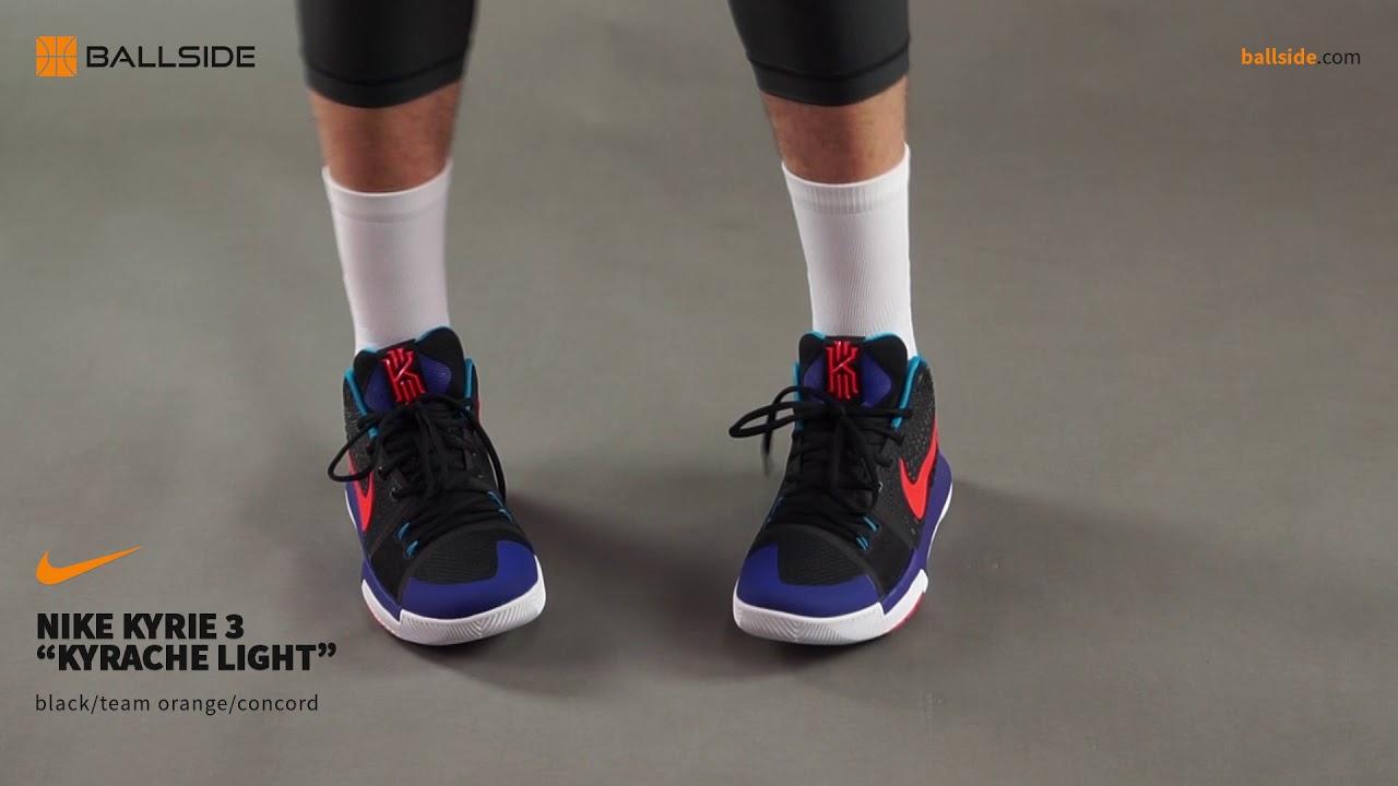 newest 3de50 1199b Nike Kyrie 3 Kyrache Light on feet