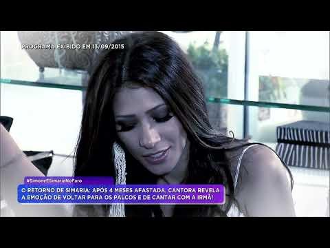 Rodrigo Faro Entrevista Simone & Simaria Após Tratamento Medico
