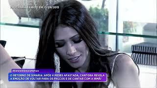Baixar Rodrigo Faro entrevista Simone & Simaria após tratamento medico