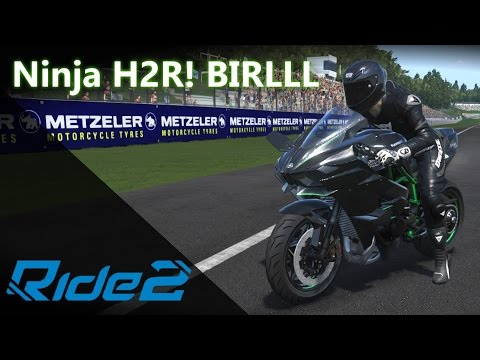 Kawasaki Ninja H2R - Saiu da jaula o MONSTRO! 💪   RIDE 2 [PT-BR]