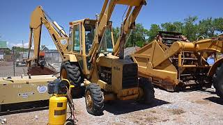 Ford 655 A 4x4 Loader Backhoe