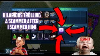 Trolling the most hilarious scammer ever after I did the scamming a scammer for hexed