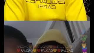 Mbaye Diagne avec les spectateurs instagram sur  le jeu action ou vérité