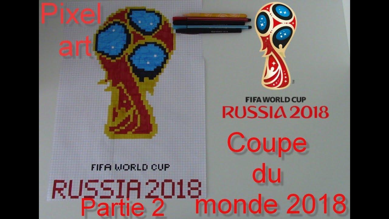 Tuto Affiche De La Coupe Du Monde 2018 En Pixel Art Partie 2 12