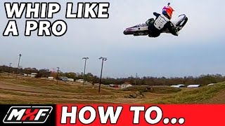 How To Whip A Dirt Bike   Lay It Flat In 3 Steps