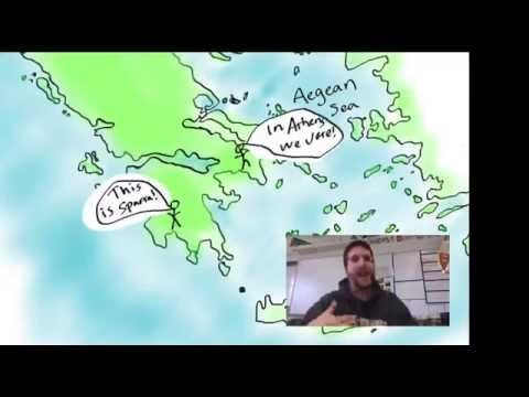 Geography of Anicient Greece Video 1