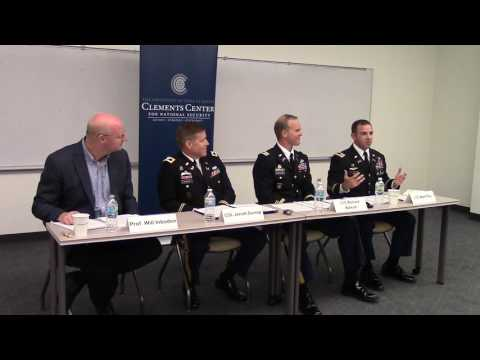 "Army War College panel discussion on ""America and Its Armed Forces"""