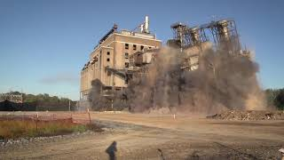 BRING IT ON! Implosion Brings Down the Duke Energy Buck Steam Station