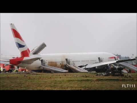 British Airways Flight 38 - ATC Recording [FUEL STARVATION CAUSED BY ICE]