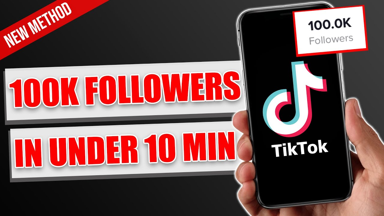 Download HOW TO GET 100,000 TIKTOK FOLLOWERS IN UNDER 10 MINUTES 2021 (NEW ALGORITHM METHOD)