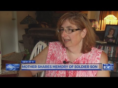 Mother shares memory of soldier son Mp3