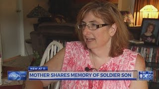 Video Mother shares memory of soldier son download MP3, 3GP, MP4, WEBM, AVI, FLV Agustus 2018