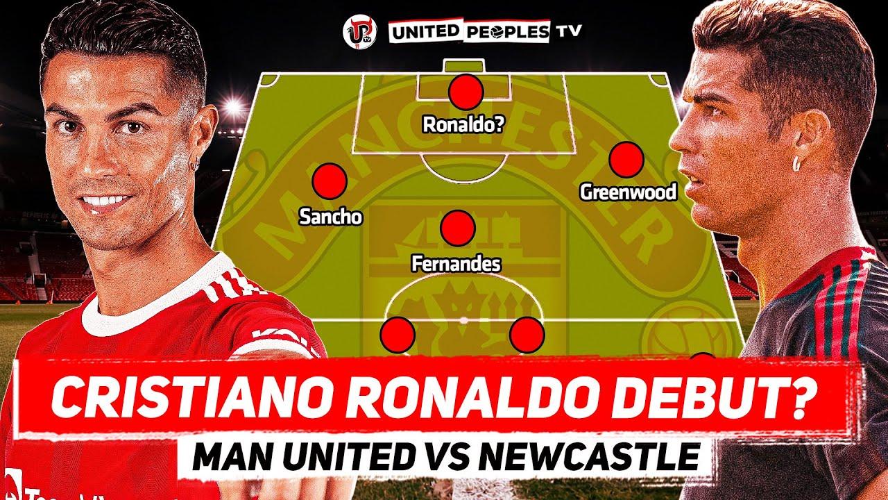 Man Utd vs Newcastle | Cristiano Ronaldo Debut ...
