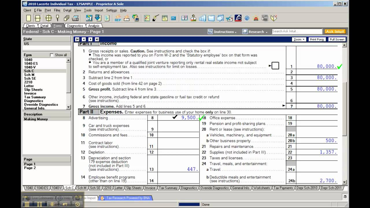 Lacerte Tax Software - Audit Checks - YouTube