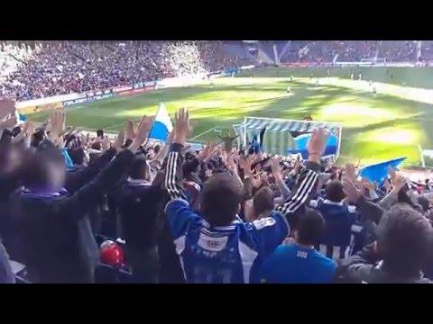 CURVA RCDE | derbi RCDE - FCB T.15-16 | MEJORES MOMENTOS