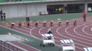 第10回岡山陸上競技カーニバル大会 ~ 晴れの国 おかやま国体記念 ~ 男子100m決勝