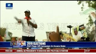 Beware Of Seasonal Politicians, Saraki Warns Kwara Residents 08/01/19 Pt.2 |News@10|