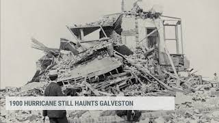 1900 Storm, Galveston Seawall Feature from The Weather Channel