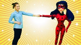 Барби или Леди Баг? Приключения у кукол - Игрушки для девочек